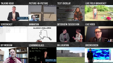 Taxonomy of Videos Produced by UAF eLearning