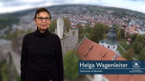 German 102: Introduction to the Course