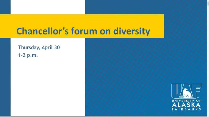 Chancellor's Forum on Diversity