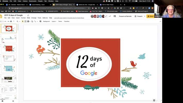 #facdev 12 Days of Google - Google Sites