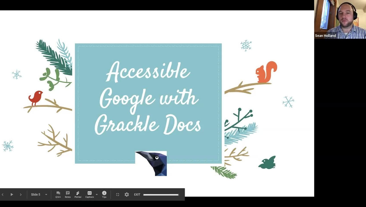 #facdev 12 Days of Google - Accessibility with Grackle Docs
