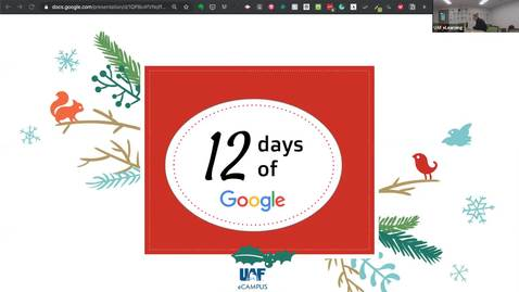 Thumbnail for entry #facdev 12 Days of Google - GMail