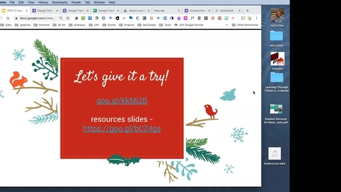 Thumbnail for entry #facdev 12 Days of Google - Google Forms