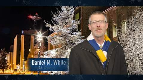 Thumbnail for entry Chancellor's virtual holiday gathering video
