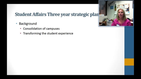 Thumbnail for entry Strategic Plan on Engagement and Retention