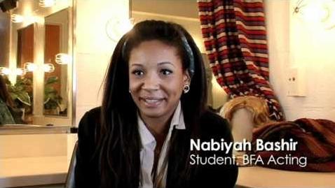 Thumbnail for entry Pace University BFA Acting Degree Program
