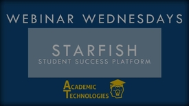 Thumbnail for entry Webinar Wednesday - Starfish