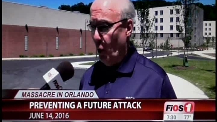 Professor Joe Ryan Interviewed by FiOS1 News About Orlando