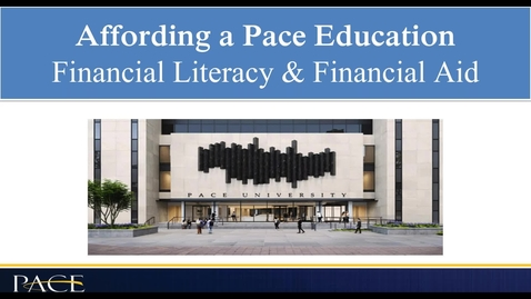 Thumbnail for entry Financial resources for students and parents