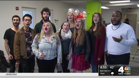 Thumbnail for entry Pace Students and President Krislov Featured on WNBC
