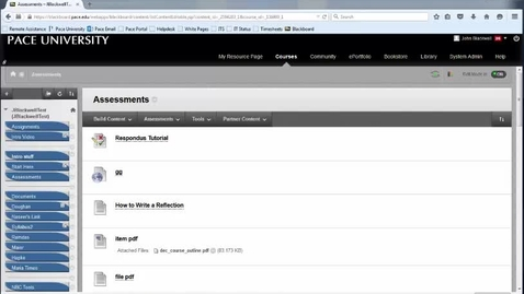 Link a Blackboard Test with Respondus Using a Password