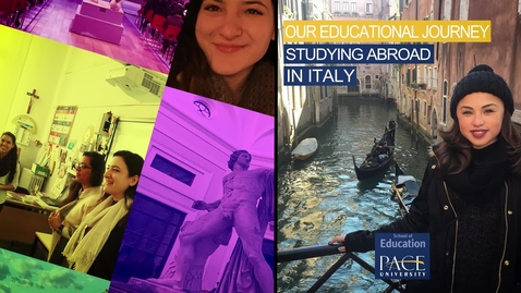 Thumbnail for entry Our Educational Journey Studying Abroad In Italy