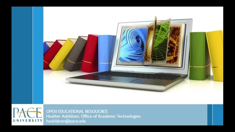Thumbnail for entry GOING OPEN - THE BENEFITS OF OPEN EDUCATIONAL RESOURCES