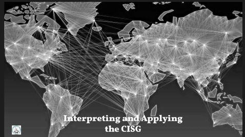 Thumbnail for entry Interpreting and applying the CISG