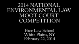 Thumbnail for entry National Environmental Law Moot Court Competition 2014