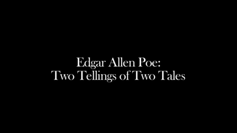 Thumbnail for entry Edgar Allen Poe Tales