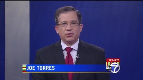WABC TV Tiempo: Interview with Professor Maria Luskay and Student Joe Ramiro Gonzalez