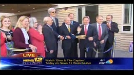 Thumbnail for entry News 12 Westchester: Opening ceremony for Alumni Hall and Environmental Center Complex