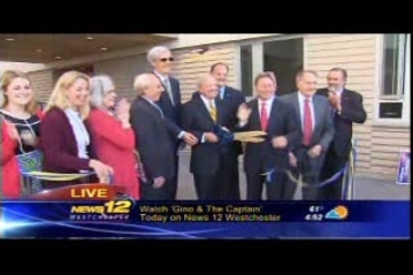 News 12 Westchester: Opening ceremony for Alumni Hall and
