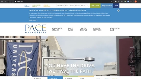 Thumbnail for entry Pace Systems Training- 2020 Orientation