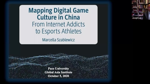 Thumbnail for entry Faculty Book Talk_ Mapping Digital Game Culture in China_default_fe62724b