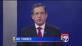 Thumbnail for entry Maria Luskay was interviewed by Joe Torres on WABC TV's Tiempo