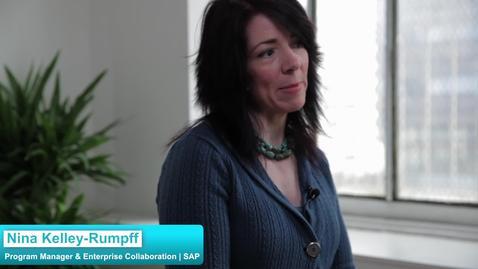 SAP: Internal Social Video Portal in Enterprises