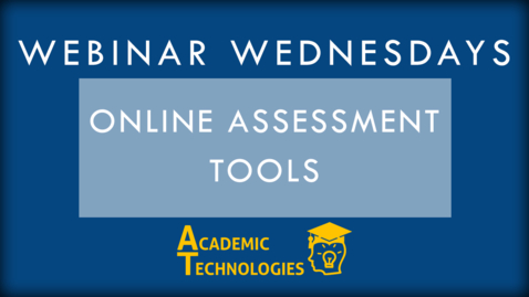 Thumbnail for entry ExamSoft and Respondus - Webinar Wednesdays
