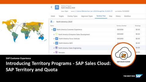 Thumbnail for entry Introducing Territory Programs in SAP Territory and Quota
