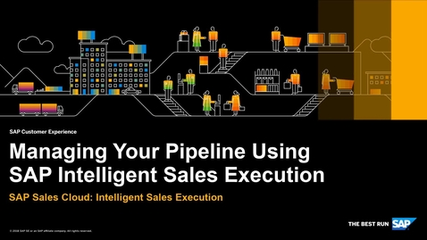 Thumbnail for entry Pipeline Management- SAP Sales Cloud: Intelligent Sales Execution