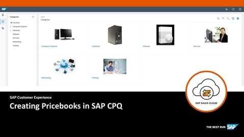 Thumbnail for entry Creating Pricebooks - SAP CPQ