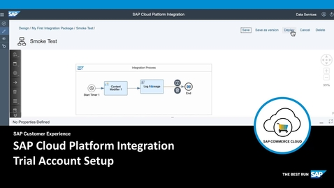 SAP Cloud Platform Integration Trial Account Setup - SAP Commerce Cloud