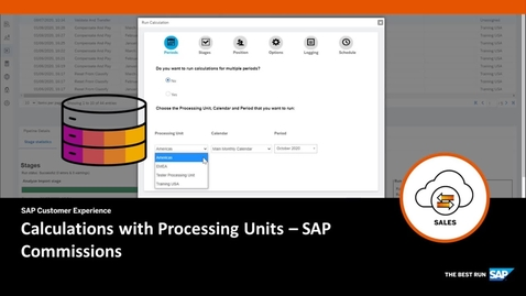 Thumbnail for entry Calculations with Processing Units - SAP Commissions