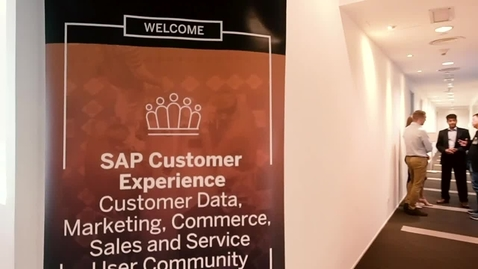 Thumbnail for entry Impressions - SAP CX User Community Malaysia