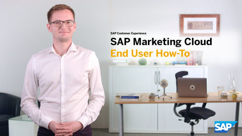 Thumbnail for entry Introduction to the End User How-To video series: SAP Marketing Cloud