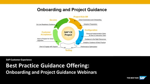 Thumbnail for entry Introduction to the Onboarding and Project Guidance Webinars