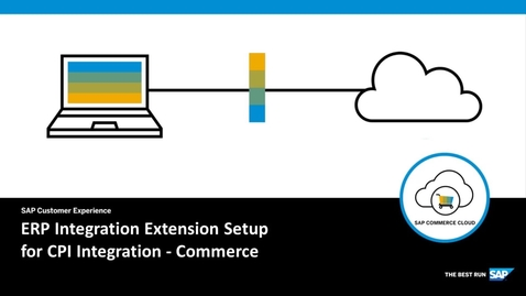 Thumbnail for entry Local Extension Setup for CPI Integration - SAP Commerce Cloud