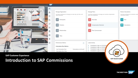 Thumbnail for entry Introduction to SAP Commissions