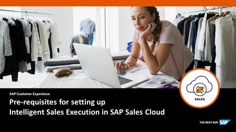 Thumbnail for entry Prerequisites for setting up Intelligent Sales Execution - SAP Sales Cloud