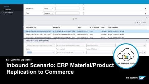 Thumbnail for entry Inbound Product Replication from ERP to SAP Commerce Cloud - SAP Commerce Cloud