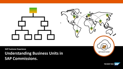 Thumbnail for entry Understanding Business Units in SAP Commissions