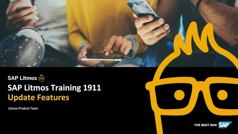 Thumbnail for entry SAP Litmos Training 1911 Update Features - Webinars