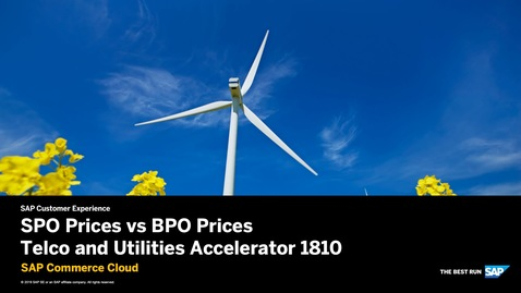 Thumbnail for entry Simple vs Bundle Product Offering Prices: Telco and Utilities Accelerator - SAP Commerce Cloud