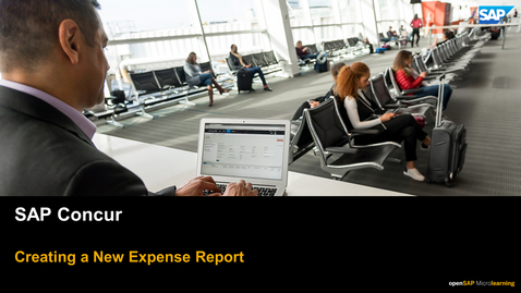 Thumbnail for entry Creating a New Expense Report - SAP Concur