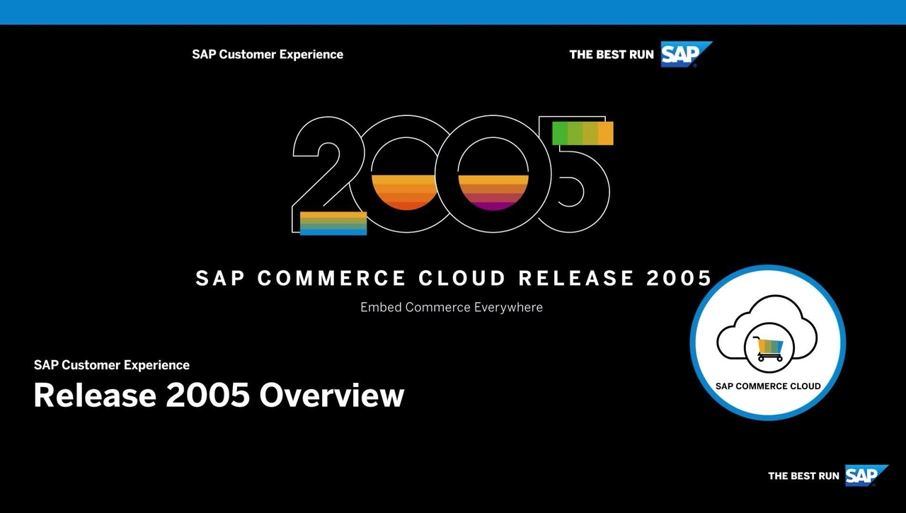 An Overview of SAP Commerce Cloud Release 2005