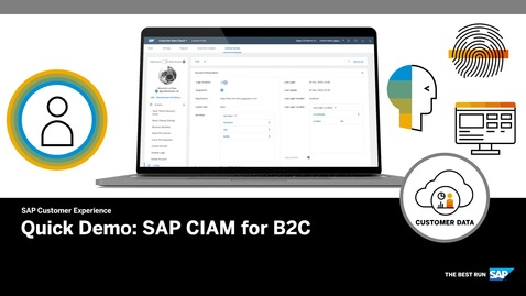 Thumbnail for entry CIAM for B2C - Quick Demo - SAP Customer Data