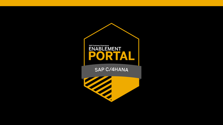 Thumbnail for channel SAP CX Enablement Portal Videos