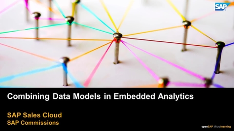 Thumbnail for entry Combining Data Models in Embedded Analytics
