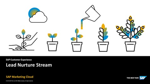 Thumbnail for entry Lead Nurture Stream - SAP Marketing Cloud