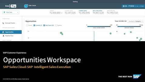 Thumbnail for entry Opportunities Workspace - SAP Sales Cloud